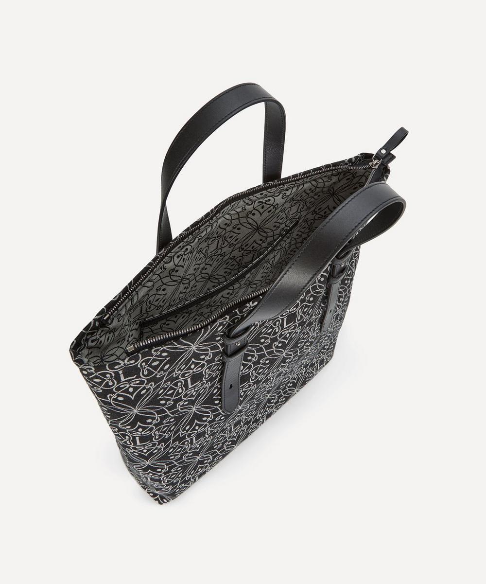 Harlequin Jacquard North South Tote Bag