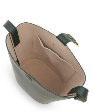 Brigitte Leather Mini Bucket Bag