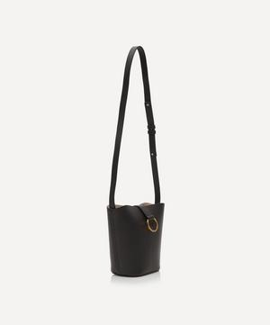 Brigitte Leather Mini Bucket Bag