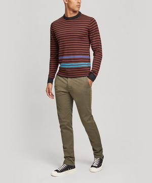 Stripe Crew-Neck Merino Wool Jumper