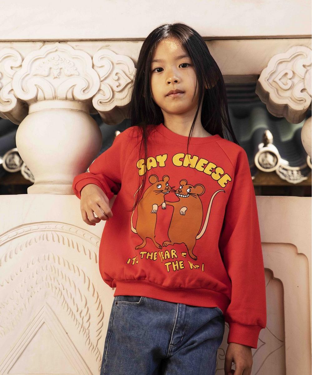 Say Cheese Sweatshirt 2-8 Years