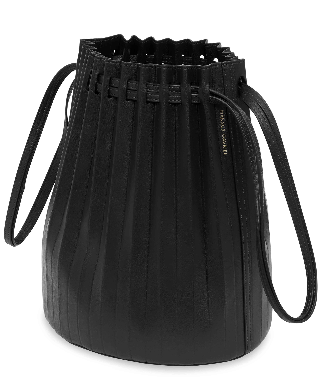 ebab359af Pleated Leather Bucket Bag | Liberty London
