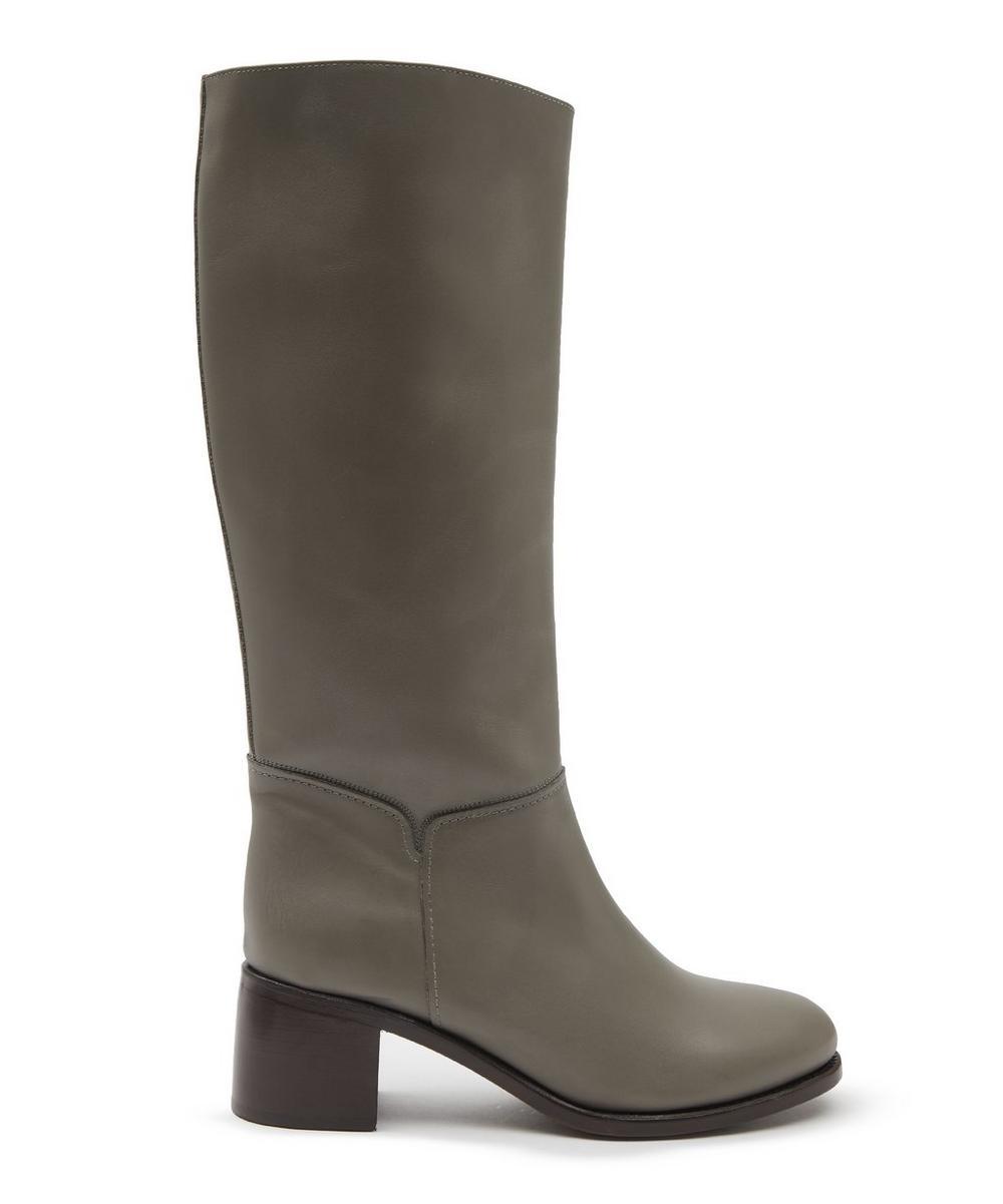 Iris Leather Boots