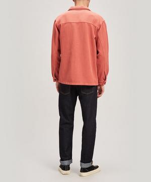 Elias Organic Cotton Twill Overshirt