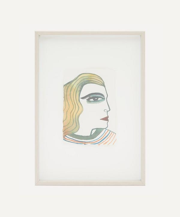 Partnership Editions - Isabelle Hayman 'Profile' Framed Original Artwork