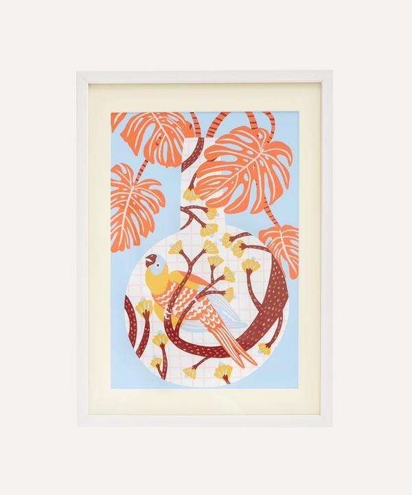 Partnership Editions - Camilla Perkins 'Bird One' Framed Giclée Print