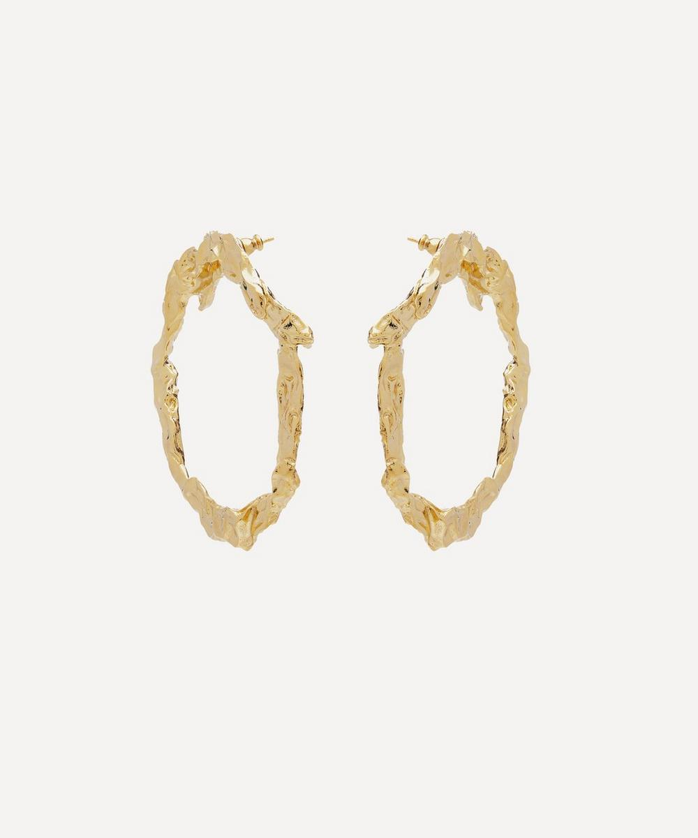 Gold-Tone Anouck Hoop Earrings