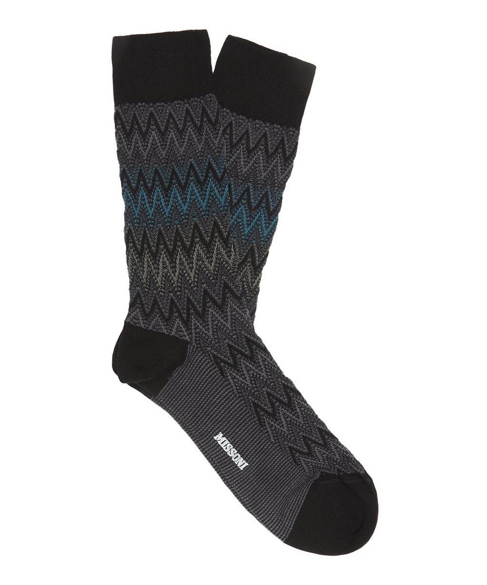 Zig-Zag Socks