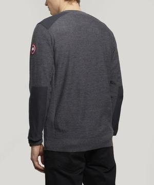 Dartmouth Logo Patch Crew-Neck Sweater