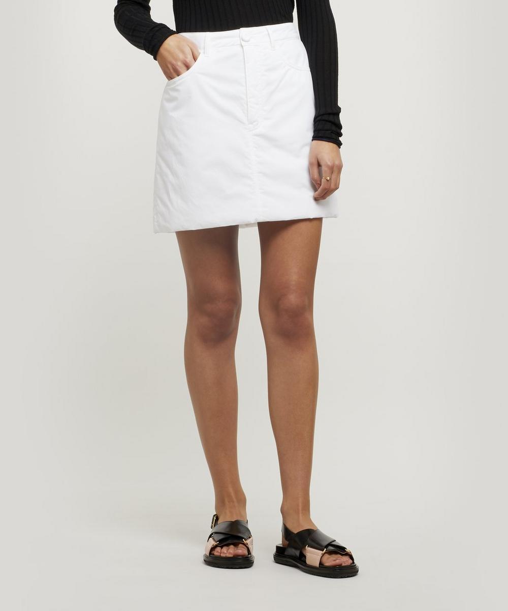 Mm6 Maison Margiela Skirts PADDED SHELL MINI SKIRT