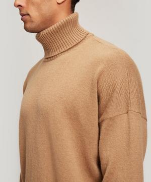Oversized Wool-blend Turtleneck Jumper