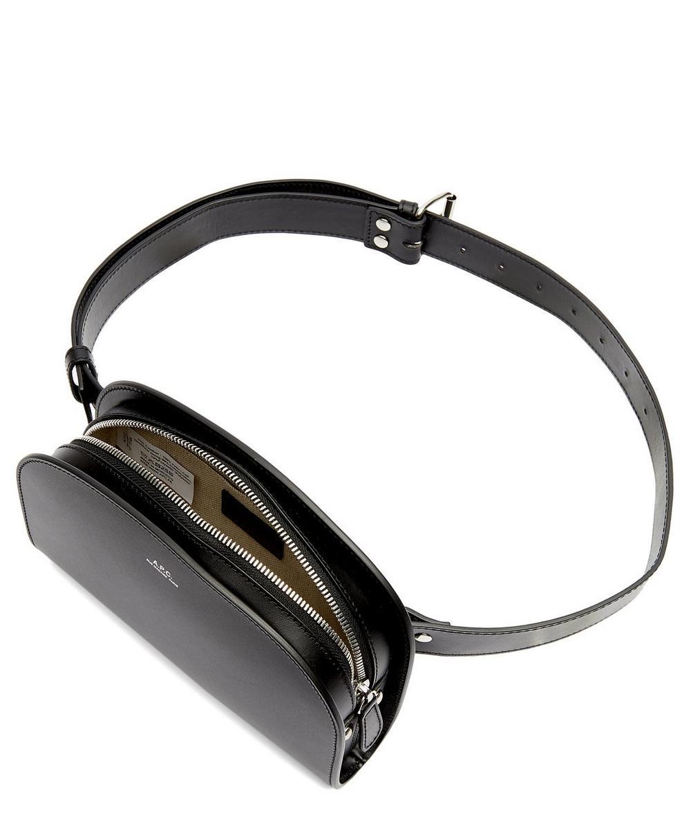 Half Moon Leather Belt Bag