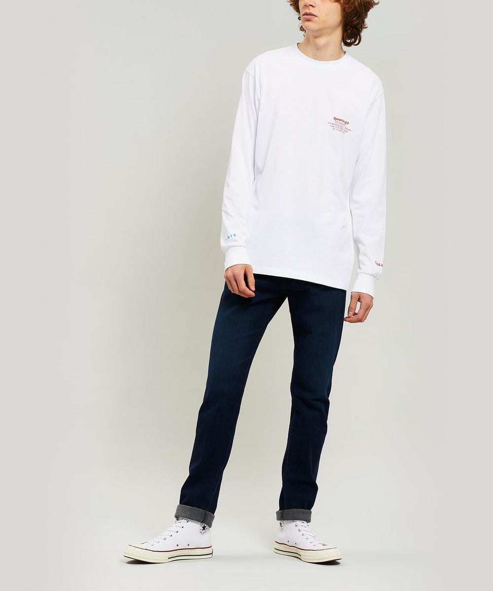 Le Cabaret Long Sleeve Cotton T-Shirt