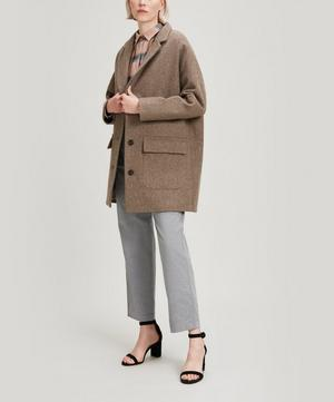 Mrs Freeze Wool-Blend Coat