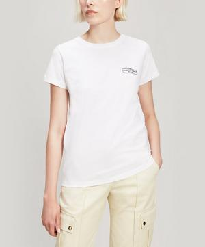 Band Aid Embroidered Cotton T-Shirt
