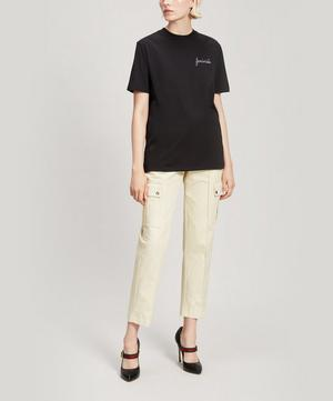 Feministe Embroidered Oversized Cotton T-Shirt