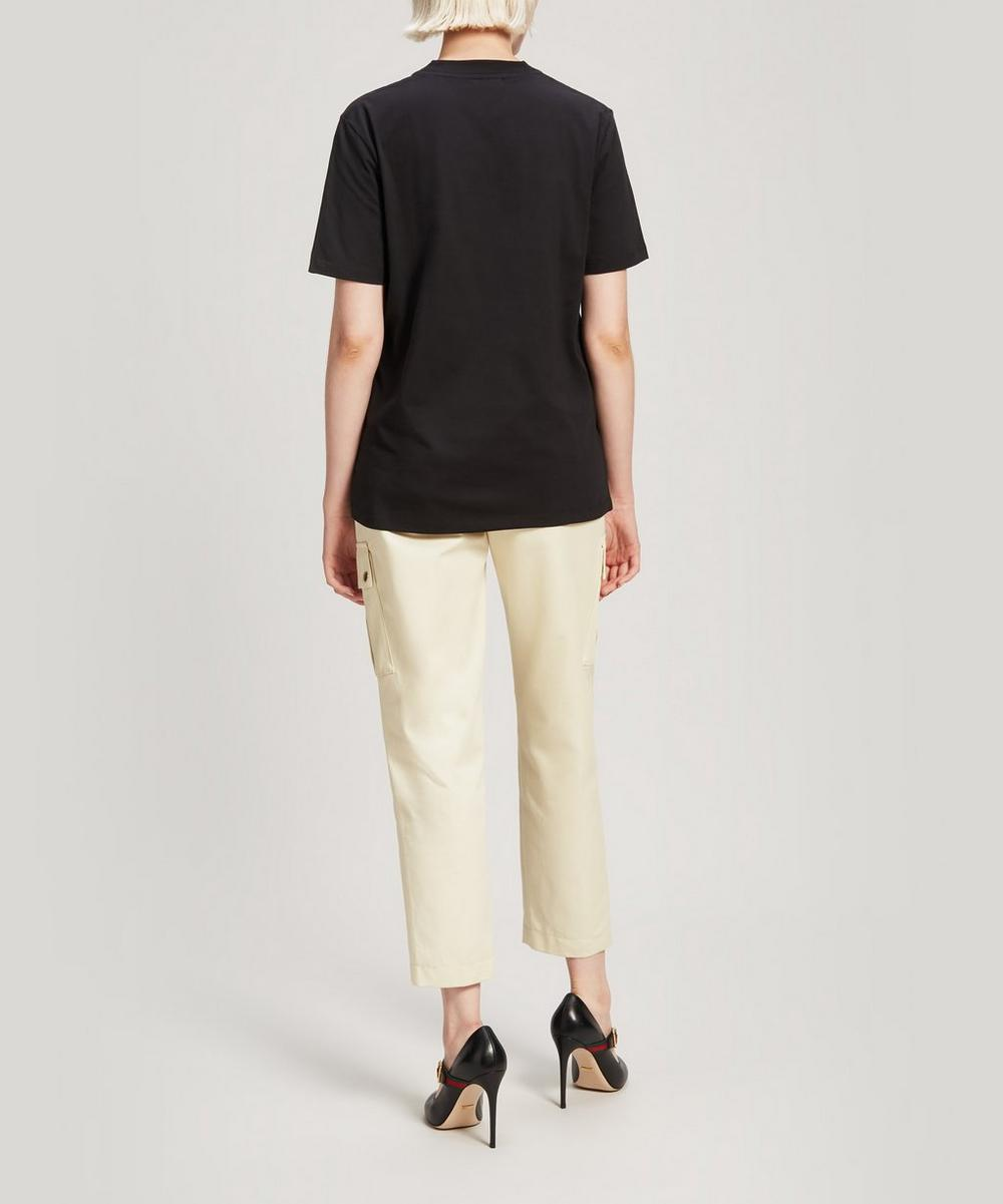 Feministe Embroidered Oversized Cotton T-Shirt