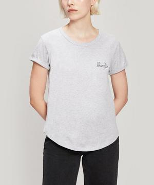 Blondie Embroidered Cotton T-Shirt