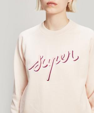 Super Embroidered Cotton Sweatshirt
