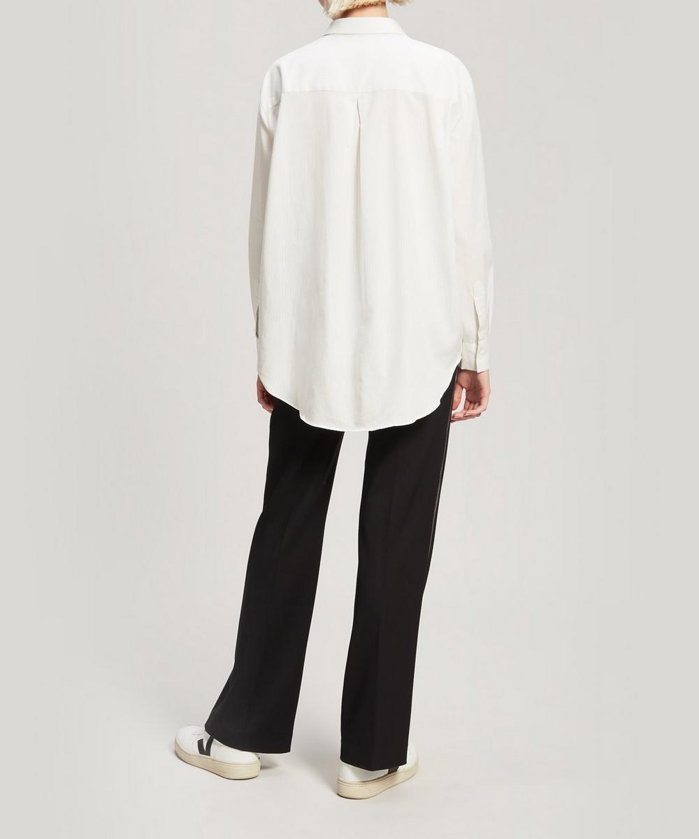 Oh La La Embroidered Cotton Shirt