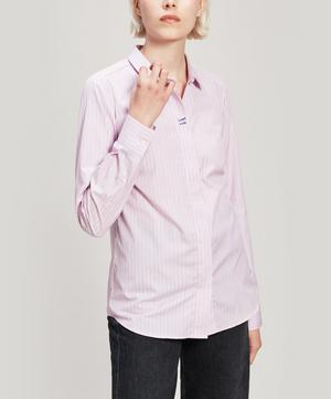Whatever Embroidered Cotton Shirt