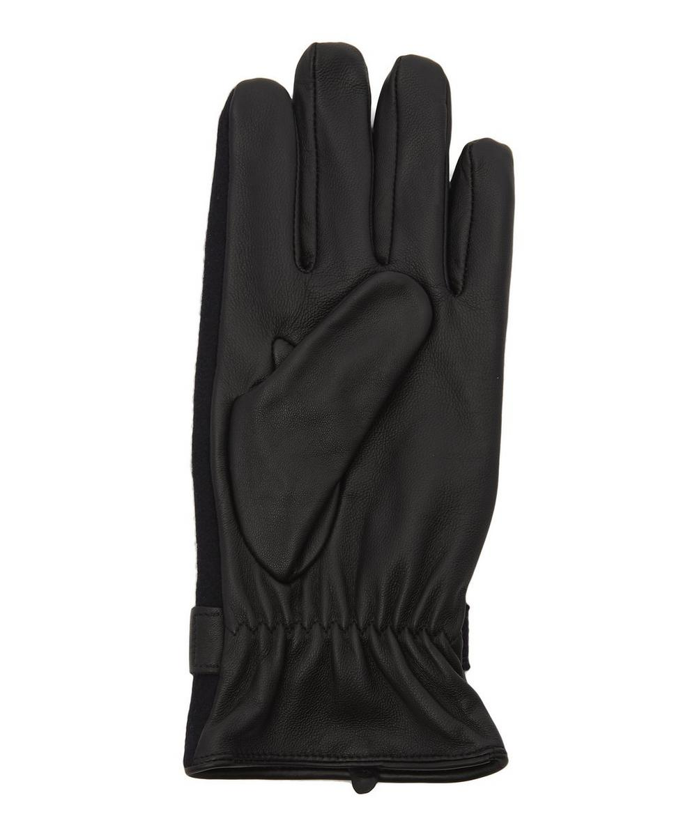 Guildford Flannel Leather Gloves