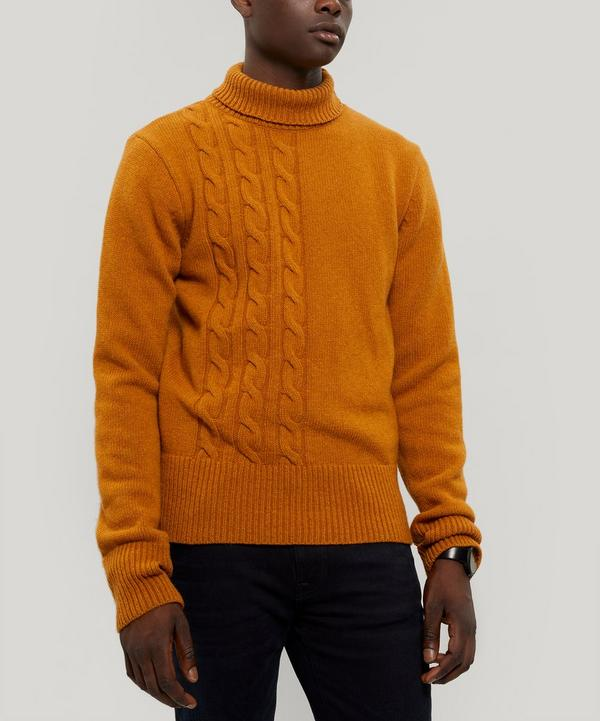 Talbot Roll-Neck Wool Jumper