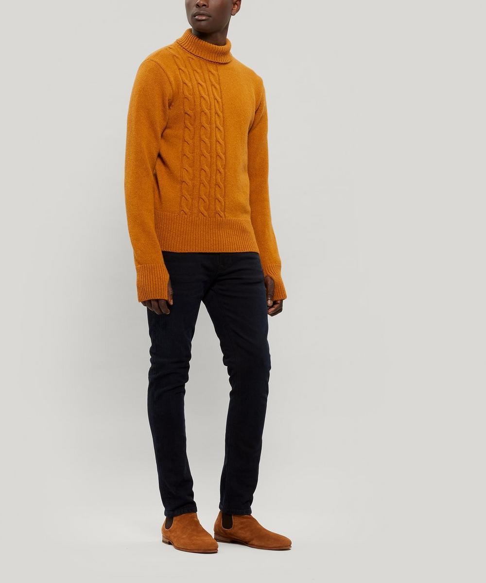 Talbot Roll-Neck Wool Jumper