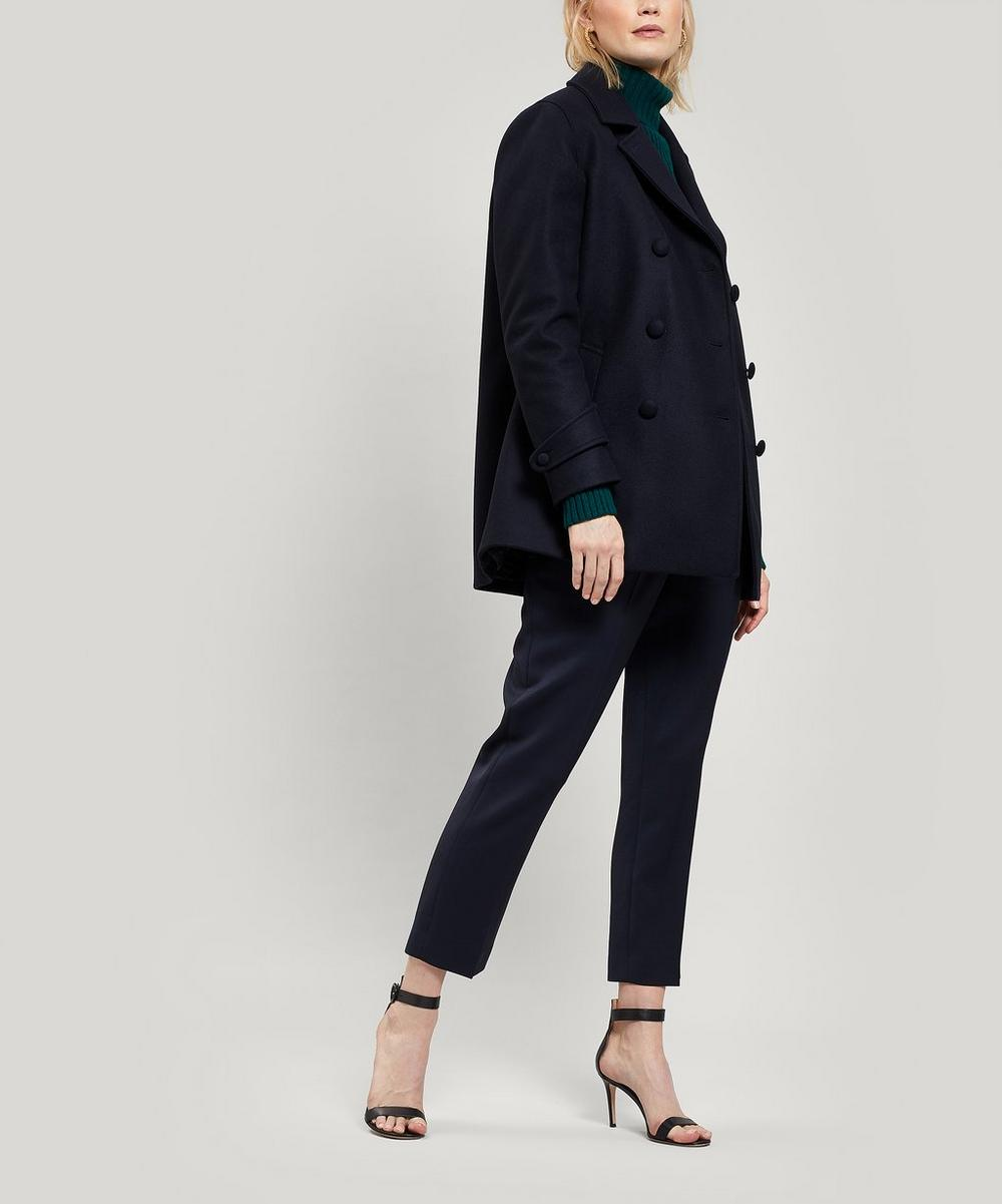 Eline Wool-Blend Double-Breasted Jacket