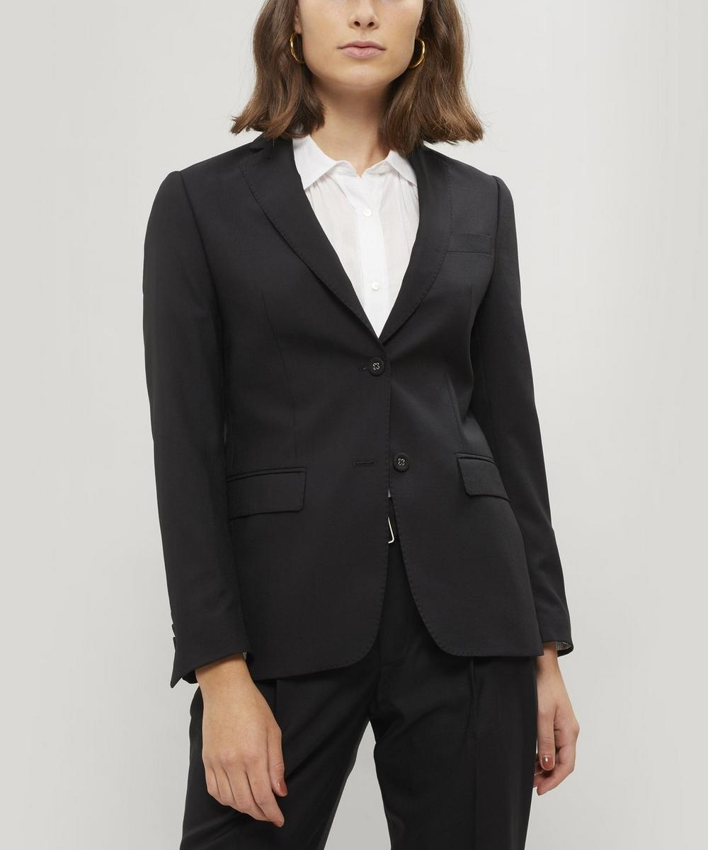 Vanessa Single-Breasted Italian Wool Blazer