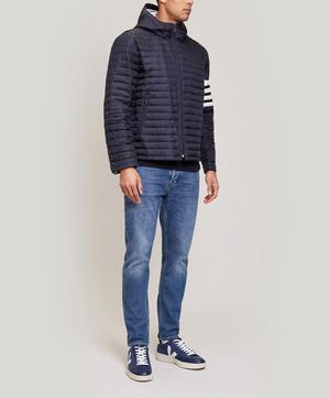 4 Bar Stripe Quilted Jacket