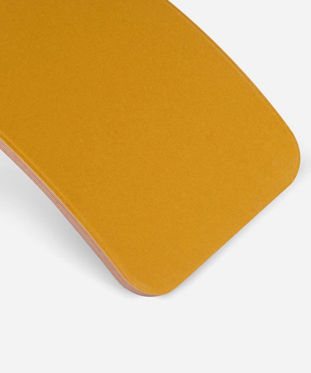 Pro Transparent Board in Mustard Yellow