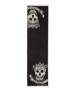Royal Banner Wool Scarf