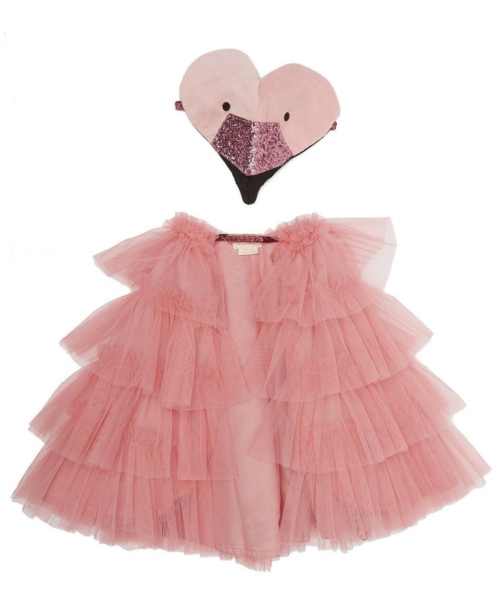 Meri Meri - Flamingo Cape Dress-Up Kit 3-6 Years
