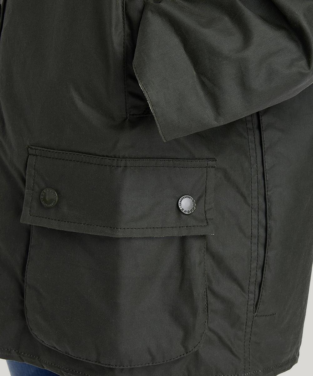 Barbour by ALEXACHUNG Edith Waxed Cotton Jacket