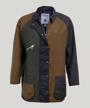 Barbour by ALEXACHUNG Patch Waxed Cotton Jacket