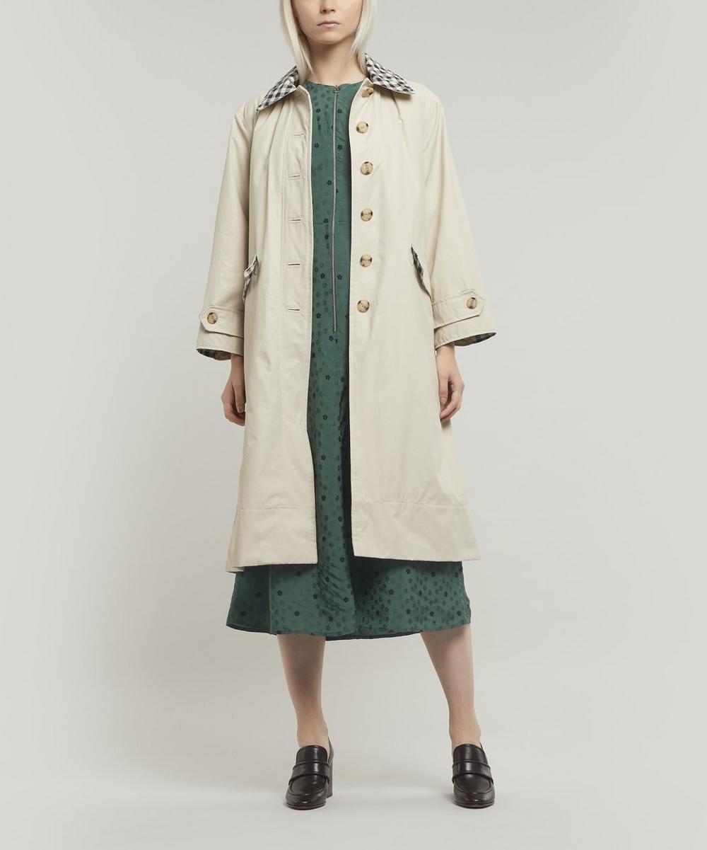 Barbour by ALEXACHUNG Glenda Cotton-Blend Coat
