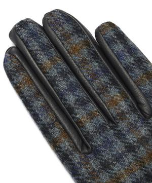 Margaret Abraham Moon Tweed and Leather Gloves