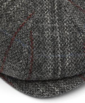8 Piece Tweed Baker Boy Flat Cap