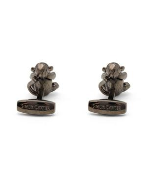 Darwin Cheeky Monkey Tigereye Cufflinks