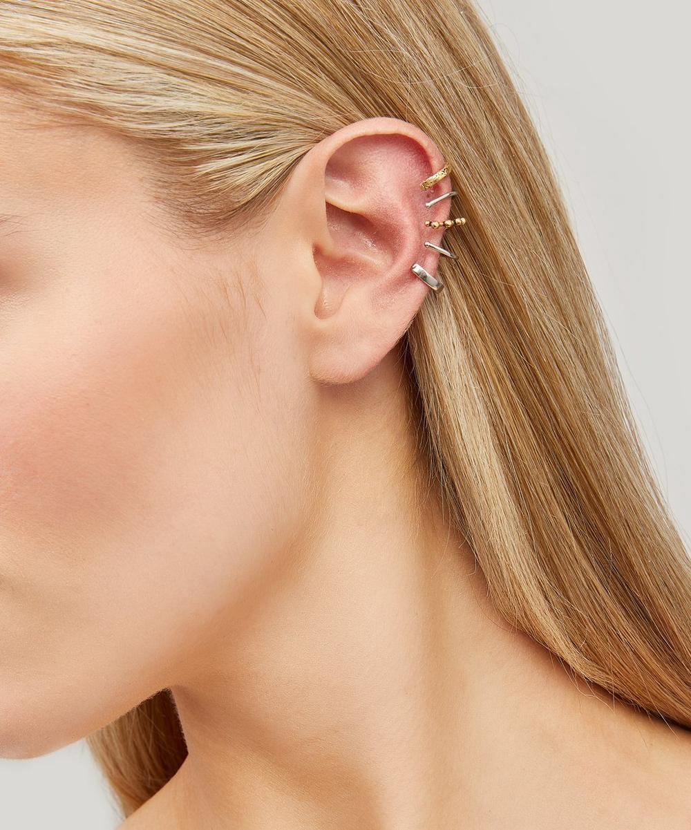 Silver-Tone Punk Ear Cuff