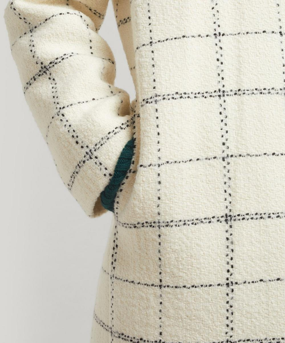 Manteau Camille Large Check Coat