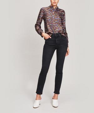 Sarah Slim-Straight Jeans