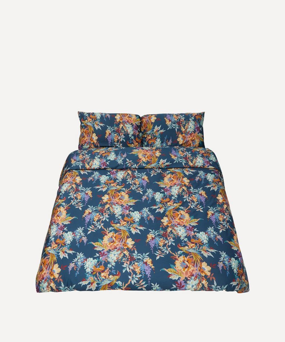 Liberty - Delphine Cotton Sateen Double Duvet Cover Set