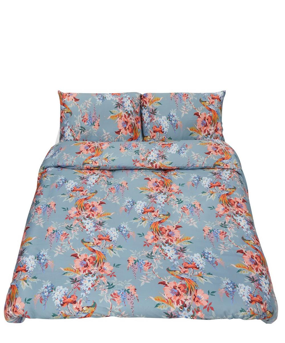 Delphine Cotton Sateen King Duvet Cover Set