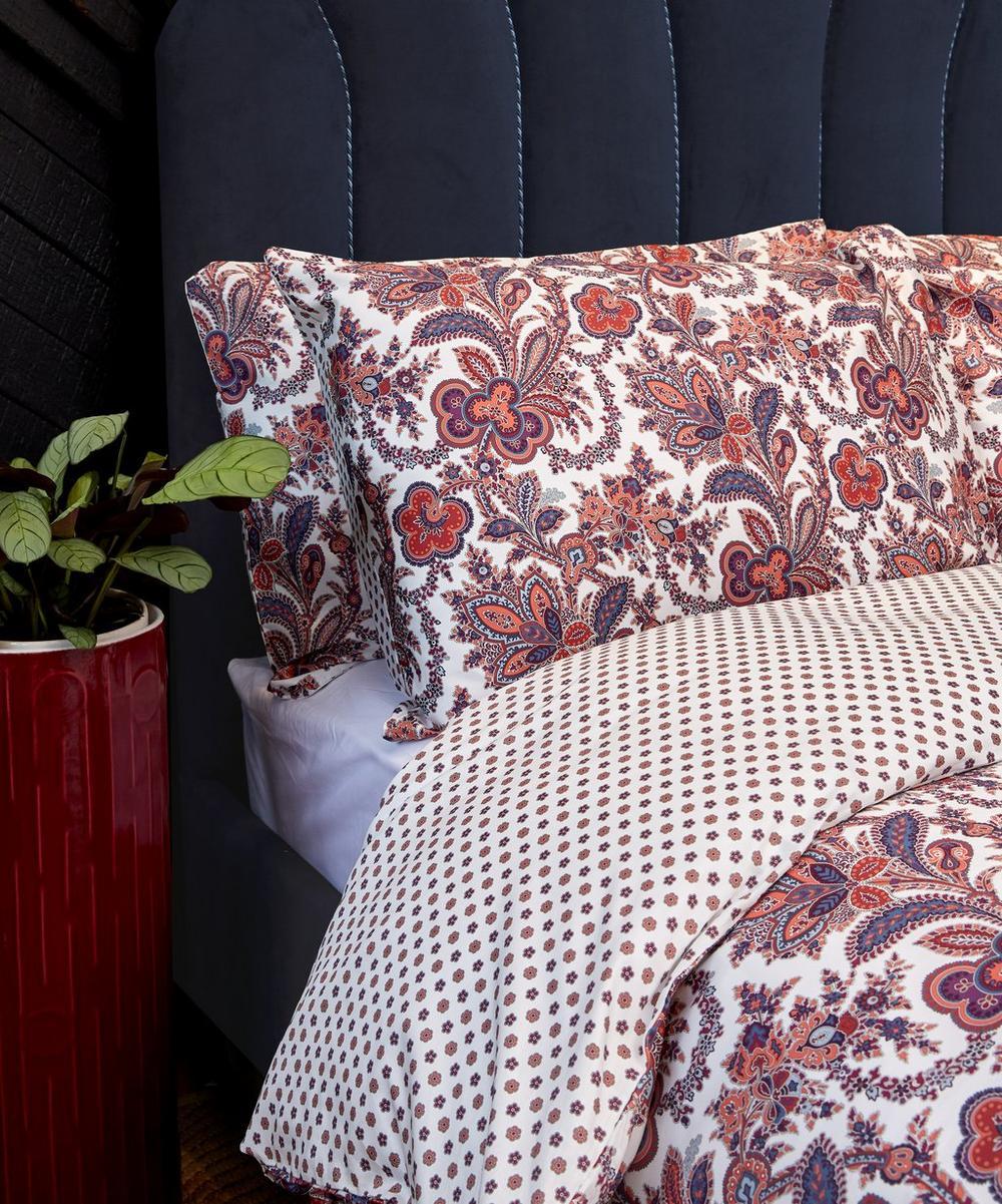 Mala Cotton Sateen Double Duvet Cover Set
