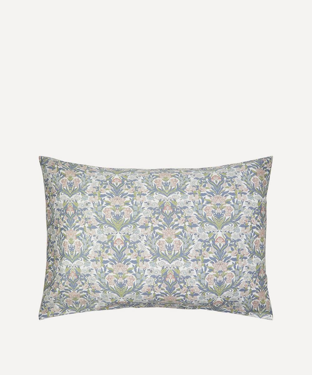 Liberty - Sea Grass Cotton Sateen Single Pillowcase