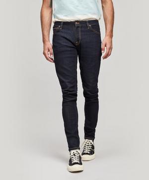 Skinny Lin Dry Deep Orange Organic Jeans
