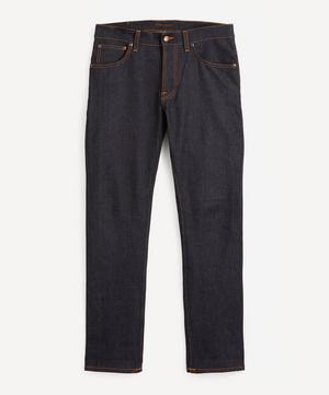 Grim Tim Dry True Navy Straight-Leg Jeans
