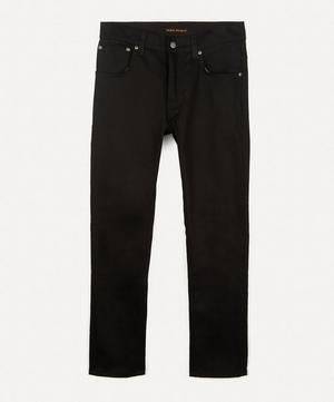 Grim Tim Dry Ever Black Straight-Leg Jeans